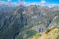 Hiking the Via Alta Via Maggia, a difficult week long trek from Locarno to Broglio, Switzerland