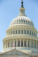Students visit the nations capitol during a class trip to Washington DC.