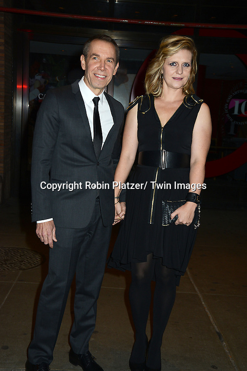 Jeff Koons and wife Justin Koons attends the  Glamour 2013 Women of the Year Awards<br /> on November 11, 2013 at Carnegie Hall in New York City.