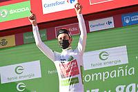 4th September 2021; Sanxenxo to Castro De Herville De Mos, Pontevedra, Spain; stage 20 of Vuelta a Espanya cycling tour;  Bahrain - Victorious Mader, Gino Castro in De Herville De Mos