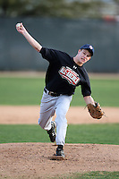 January 17, 2010:  Madison Neddo (Earleville, MD) of the Baseball Factory Northeast Team during the 2010 Under Armour Pre-Season All-America Tournament at Kino Sports Complex in Tucson, AZ.  Photo By Mike Janes/Four Seam Images