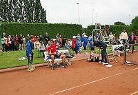 August 17, 2014, Netherlands, Raalte, TV Ramele, Tennis, National Championships, NRTK, Mens Final : Jasper Smit (NED) <br /> Photo: Tennisimages/Henk Koster