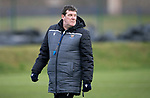 St Johnstone Training…….24.01.20<br />Manager Tommy Wright pictured during training this morning at McDiarmid Park ahead of tomorrow's game against Kilmarnock.<br />Picture by Graeme Hart.<br />Copyright Perthshire Picture Agency<br />Tel: 01738 623350  Mobile: 07990 594431