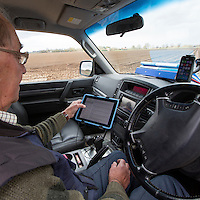 Farm manager with mobile access to farm records, farm weather station, internet & potato store controls via the internet and in truck tablet