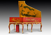 BNPS.co.uk (01202) 558833<br /> Pic: Dreweatts/BNPS<br /> <br /> Pictured: The Chinoiserie Pleyel piano is on offer for £60,000<br /> <br /> A remarkable collection of rare pianos belonging to the Queen's personal restorer and conservator has emerged for sale for £250,000.<br /> <br /> David Winston is parting with 26 pianos he has amassed over the past 30 years dating from the 18th century to the present day.<br /> <br /> Mr Winston, who was awarded the Royal Warrant in 2012, is regarded as one of the foremost experts in his field and has restored pianos owned and played by Beethoven, Chopin and Liszt.<br /> <br /> His collection includes a 1925 Pleyel grand piano fitted with an original 'Auto Pleyela' self-playing mechanism in a spectacular Chinoiserie Louis XV case valued at 60,000.