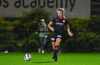 Amber Bert(10) of Zulte-Waregem pictured during a female soccer game between Sporting Charleroi and SV Zulte-Waregem on the 12 th matchday of the 2020 - 2021 season of Belgian Scooore Womens Super League , friday 29 th of January 2021  in Marcinelle , Belgium . PHOTO SPORTPIX.BE | SPP | DAVID CATRY