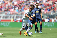 Santa Clara, CA - Sunday July 22, 2018: Quincy Amarikwa during a friendly match between the San Jose Earthquakes and Manchester United FC at Levi's Stadium.