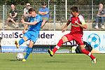 Nicolai Gross (Nr.9, FC Astoria Walldorf) beim Torschuss beim Spiel, FC Astoria Walldorf - SC Freiburg II.<br /> <br /> Foto © PIX-Sportfotos *** Foto ist honorarpflichtig! *** Auf Anfrage in hoeherer Qualitaet/Aufloesung. Belegexemplar erbeten. Veroeffentlichung ausschliesslich fuer journalistisch-publizistische Zwecke. For editorial use only. DFL regulations prohibit any use of photographs as image sequences and/or quasi-video.