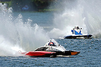 """Andrew Tate, A-25 """"Fat Chance"""" and Kevin Kreitzer, A-64 """"Blue Devil"""" (2.5 MOD class hydroplane(s)"""