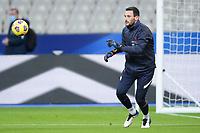 17th November 2020; Stade de France, Paris,  France; UEFA National League international football, France versus Sweden; France warm up for LLORIS HUGO (France)