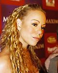 Mariah Carey at the Maxim Super Bowl XXXVI party in New Orleans, Louisiana on January 30, 2002.  Photo credit: Presswire News/Elgin Edmonds