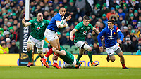 Sunday10th March 2019 | Ireland vs France<br /> <br /> Gaël Fickou is tackled by Peter O'Mahony and Jack Conan during the Guinness 6 Nations clash between Ireland and France at the Aviva Stadium, Lansdowne Road, Dublin, Ireland. Photo by John Dickson / DICKSONDIGITAL