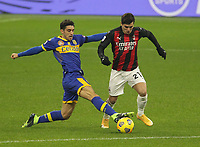 Milano  05-12-2020<br /> Stadio Giuseppe Meazza<br /> Campionato Serie A Tim 2020/21<br /> Milan - parma<br /> nella foto:  Diaz                                                        <br /> Antonio Saia Kines Milano