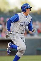 April 10, 2009: Infielder Jeff Bianchi (6) of the Wilmington Blue Rocks, Class A affiliate of the Kansas City Royals, in a game against the Myrtle Beach Pelicans at BB&T Coastal Field in Myrtle Beach, S.C. Photo by:  Tom Priddy/Four Seam Images