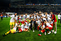 Portugal celebrate with the trophy after winning the UEFA Nations League Final match between Portugal and Netherlands at Estadio do Dragao on June 9th 2019 in Porto, Portugal. (Photo by Daniel Chesterton/phcimages.com)<br /> Finale <br /> Portogallo Olanda<br /> Photo PHC/Insidefoto <br /> ITALY ONLY