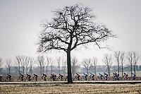 lined up<br /> <br /> 70th Kuurne-Brussel-Kuurne 2018<br /> Kuurne › Kuurne: 200km (BELGIUM)