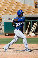 Jovanny Rosario - Los Angeles Dodgers 2009 Instructional League. .Photo by:  Bill Mitchell/Four Seam Images..