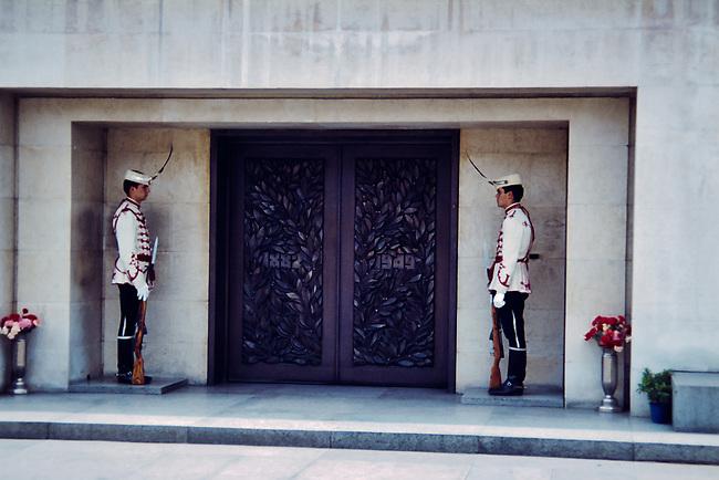 Honor Guard, Dimitrov Mausoleum
