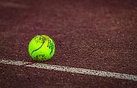 Netherlands, Oktober 24,  2021, Zuidwolde,  KIA Competition Men, premier league,  Suthwalda vs Spijkenisse, first single : tennisball<br /> Photo: Henk Koster/tennisimages.com