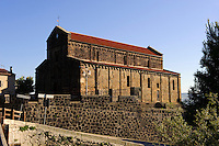 Kirche Nostra Signora del Regno (12.Jh.) in Ardara,  Provinz Sassari, Nord - Sardinien, Italien