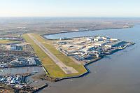 Finkenwerder Flugplatz und Werft Airbus  25.12.2020: Finkenwerder Flugplatz und Werft Airbus