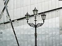 lampioni al museo ebraico a Berlino , Germania, lights at Jewish Museum Berlin, Germany