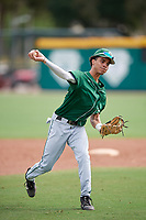 Dartmouth Big Green Bryce Daniel (20) during practice before a game against the USF Bulls on March 17, 2019 at USF Baseball Stadium in Tampa, Florida.  USF defeated Dartmouth 4-1.  (Mike Janes/Four Seam Images)