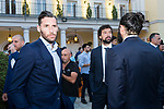 Players Rudy Fernandez (l) , Sergio Llull and Ricky Rubio (r) during the first edition of Spanish Basketball Awards. July 25, 2019. (ALTERPHOTOS/Francis Gonzalez)