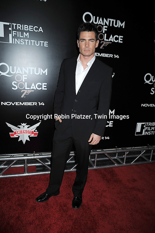 """at The Tribeca Film Institute Benefit Screening of """"Quantum of Solace"""" movie screening on November 11, 2008 at AMC Lincoln Square Theatre. The movie stars DAniel Craig and Jeffrey Wright. ....Robin Platzer/Twin Images"""