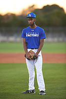 Quincey Littlejohn-Docken (44), from Long Lake, Minnesota, while playing for the Dodgers during the Under Armour Baseball Factory Recruiting Classic at Gene Autry Park on December 27, 2017 in Mesa, Arizona. (Zachary Lucy/Four Seam Images)