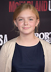 Elsie Fisher attends The Disney Premiere of McFarland, USA held at The El Capitan Theater  in Hollywood, California on February 09,2015                                                                               © 2015 Hollywood Press Agency