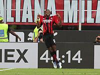 Milano 12-09-2021<br /> Stadio Giuseppe Meazza<br /> Campionato Serie A Tim 2021/22<br /> Milan - Lazio<br /> nella foto: Leao celebrating for his goal      <br /> foto Antonio Saia -Kines Milano