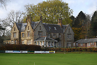 BNPS.co.uk (01202 558833)<br /> Pic: ZacharyCulpin/BNPS<br /> <br /> Pictured: Broadwindsor House, which is now a residential home overlooks the Cricket Club<br /> <br /> One of the most picturesque cricket grounds in England has been saved from developers after a village club raised £50,000 to buy it.<br /> <br /> Broadwindsor Cricket Club had leased the idyllic Middleton-Hands Ground in Dorset for a peppercorn rent from a local family since 1965.<br /> <br /> But they were hit for six last year when descendants of the late cricket-loving landowners gave them notice to vacate the venue and remove the pavilion.