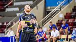 Tor verfehlt bei 7-Meter / Patrick Zieker (TVB Stuttgart #25) ; BGV Handball Cup 2020 Halbfinaltag: TVB Stuttgart vs. HBW Balingen-Weilstetten am 11.09.2020 in Ludwigsburg (MHPArena), Baden-Wuerttemberg, Deutschland<br /> <br /> Foto © PIX-Sportfotos *** Foto ist honorarpflichtig! *** Auf Anfrage in hoeherer Qualitaet/Aufloesung. Belegexemplar erbeten. Veroeffentlichung ausschliesslich fuer journalistisch-publizistische Zwecke. For editorial use only.