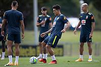 10th November 2020; Granja Comary, Teresopolis, Rio de Janeiro, Brazil; Qatar 2022 qualifiers; Roberto Firmino of Brazil during training session in Granja Comary