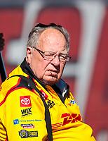 Nov 1, 2020; Las Vegas, Nevada, USA; NHRA team owner Connie Kalitta during the NHRA Finals at The Strip at Las Vegas Motor Speedway. Mandatory Credit: Mark J. Rebilas-USA TODAY Sports