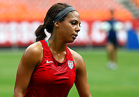 WASHINGTON D.C. - September 02, 2013:<br /> Sydney Leroux During a USA WNT open practice at RFK Stadium, in Washington D.C. the day before the USA v Mexico international friendly match.