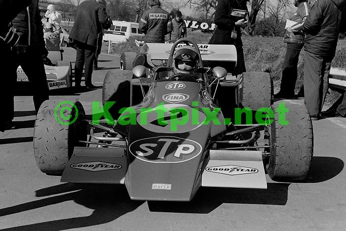 Niki Lauda, John Player Formula 2 Championship Race 1972, European Championship for F2 Drivers Rd 1<br /> John Player British F2 Championship  Rd 1, Mallory Park.