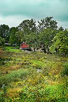Scenic landscape, Stroud Preserve, Chester County, Pennsylvania, USA