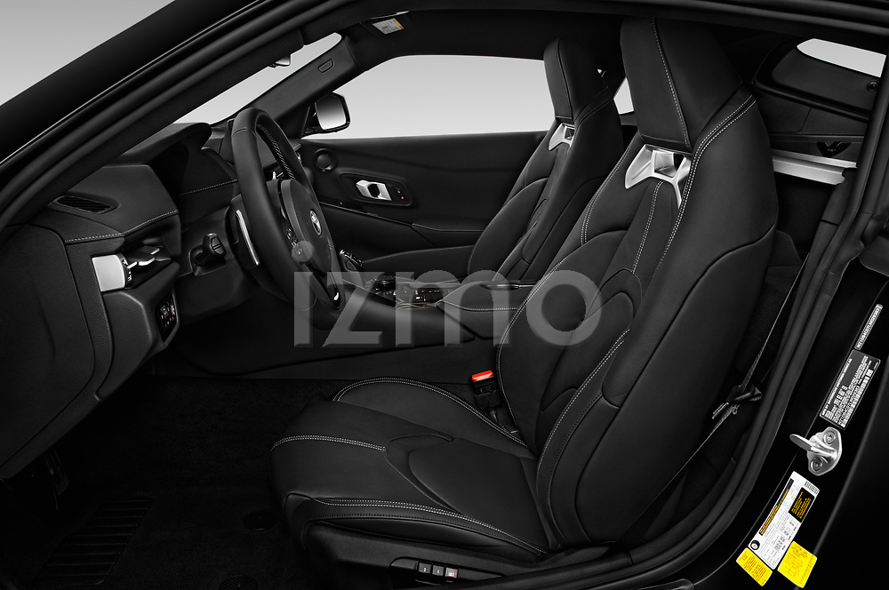 Front seat view of 2020 Toyota GR-Supra Premium 2 Door Coupe Front Seat  car photos