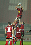 George Earle.Celtic League.Scarlets v Ulster.Parc y Scarlets.02.12.12..©Steve Pope