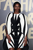 Tiwa Savage<br /> arriving for the Fashion for Relief show 2019 at the British Museum, London<br /> <br /> ©Ash Knotek  D3519  14/09/2019