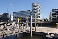 Wohnhaus in der Hafencity,  Hamburg, Deutschland