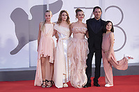 Elio Germano, Carlotta Gamba, Sara Ciocca attending the America Latina Premiere as part of the 78th Venice International Film Festival in Venice, Italy on September 09, 2021. <br /> CAP/MPI/IS/PAC<br /> ©PAP/IS/MPI/Capital Pictures