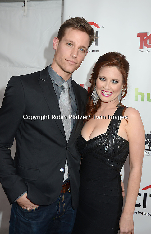 """Melissa Archer and Ward Horton attends the New York Premiere of """"All My Children"""" and. """"One Life to Live """" on April 23, 2013 at NYU Skirball Theatre in New York City. Prospect Park is producing the shows and they will air on www.hulu.com starting on April 29, 2013."""