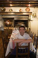 """Europe/France/Aquitaine/64/Pyrénées-Atlantiques/Larrau: Pierre Etchemaïté chef de l'Hotel-Restaurant """"Etchemaïté"""""""
