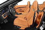 Front seat view of 2019 Maserati Gran-Cabrio Sport 2 Door Convertible Front Seat  car photos