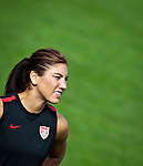 15.06.2011, Steinbergstadion, Leogang, AUT, FIFA WOMENS WORLDCUP 2011, PREPERATION, USA, im Bild Hope Solo, (USA, #1) während eines Trainings zur Vorbereitung auf die FIFA Damen Fussball Weltmeisterschaft 2011 in Deutschland // during a Trainingssession for the FIFA Women´s Worldcup 2011 in Germany, on 2011/06/15, Steinberg Stadium, Leogang, Austria, EXPA Pictures © 2011, PhotoCredit: EXPA/ J. Feichter