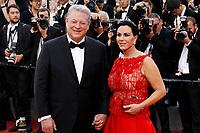 Al Gore and Elizabeth Keadle - 'The Killing of a Sacred Deer' Red carpet during Cannes Film Festival in Cannes, France, 22/05/2017. # 70EME FESTIVAL DE CANNES - RED CARPET 'MISE A MORT DU CERF SACRE'