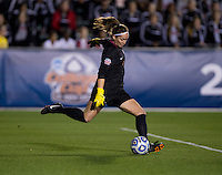 Kelsey Wys. Florida State defeated Virginia Tech, 3-2,  at the NCAA Women's College Cup semifinals at WakeMed Soccer Park in Cary, NC.